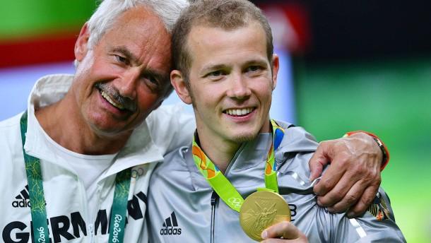 Hambüchen holte Gold bei Olympia mit Verletzung