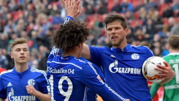 Schalke entspannt sich