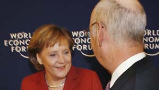 Brückenbauer in Davos
