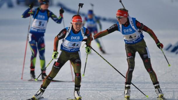 Bronze für die deutsche Damen-Staffel