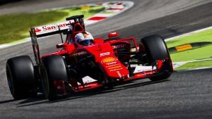 Nur Hamilton ist schneller als Ferrari