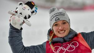 Glück um Mitternacht für Katharina Althaus