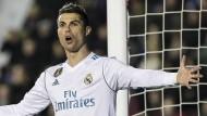 Es war nicht sein Spiel: Cristiano Ronaldo und Real Madrid sind unzufrieden.