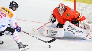 Defektes Plexiglas stoppt Eishockey-Nationalteam