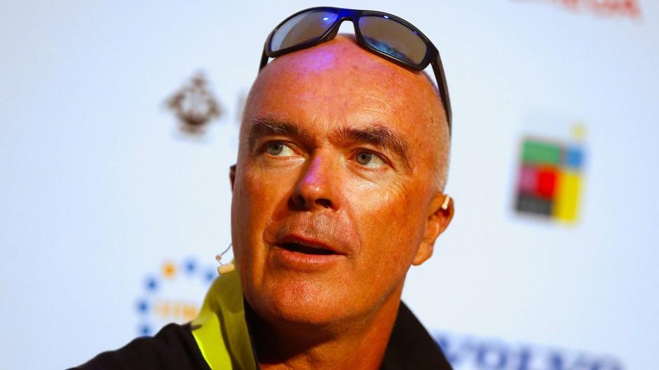 Bouwe Bekking ist eine Legende des Volvo Ocean Race.