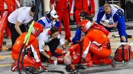 Unglück von Mechaniker trübt Ferraris Freude