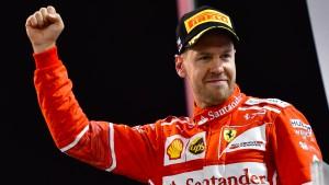 Vettel eröffnet schon die Jagd auf Hamilton