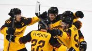 Das Eishockey-Märchen geht weiter: Deutschland steht im Finale.