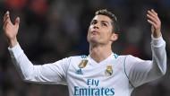 Dreifacher Torschütze: Cristiano Ronaldo.