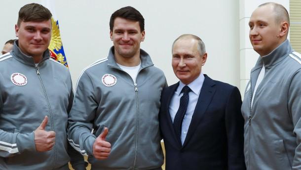 IOC will nur eingeladene Russen starten lassen