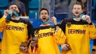 Deutsche Gewinner-Typen: Silber glänzt fast so schön wie Gold.