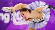 Alina Ilnasowna Sagitowa lieferte in Pyeongchang das beste Kurzprogramm ab.