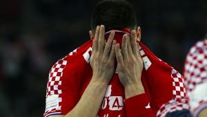 Keine Medaille für Gastgeber Kroatien