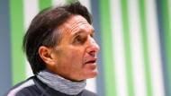 ?Es ist natürlich eine intensive Zeit?: Wolfsburgs neuer Trainer Bruno Labbadia.