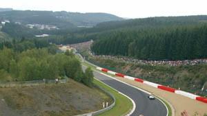 Michael Schumachers erste Pole Position in Spa