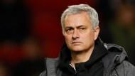 Völlig bedient an Weihnachten: Manchester Uniteds Trainer José Mourinho.