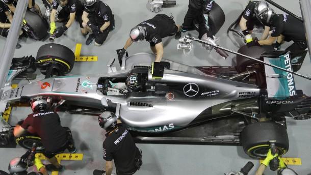 Kein guter Tag für Mercedes