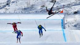 Erwartbare Stürze im Skicross