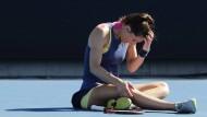 Gespielt, gesetzt, wieder gespielt, gewonnen: Andrea Petkovic weiß sich in Melbourne zu inszenieren.