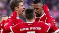 Bayern auf Platz vier