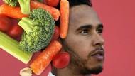 Gemüse ist sein Antrieb: Lewis Hamilton ist der erste vegane Weltmeister der Formel 1