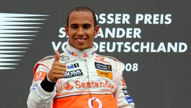 """""""Ein sensationeller Sieg von Lewis Hamilton"""""""