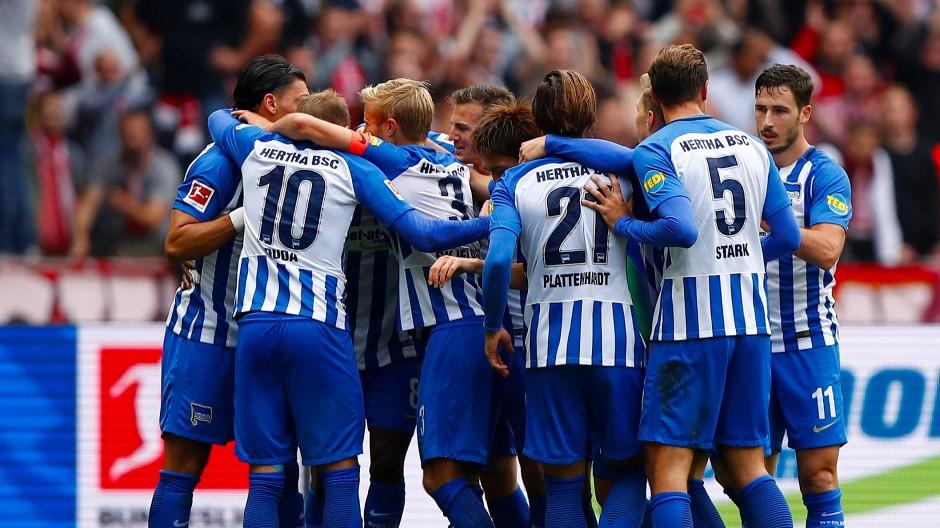 Überraschender Punktgewinn für die Hertha: nach 0:2 noch 2:2