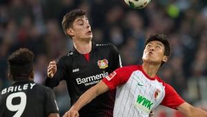 Pechvogel rettet Augsburg einen Punkt