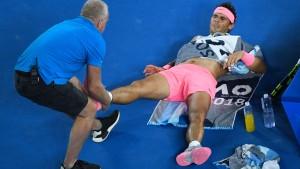 Nadal muss passen – vielleicht bis zur Sandplatzsaison