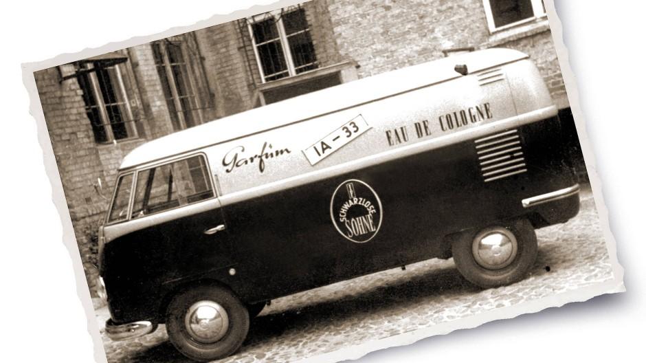 Auf Tour: Ein ehemaliger Firmenwagen von J.F. Schwarzlose