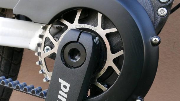 Radeln wie gedruckt