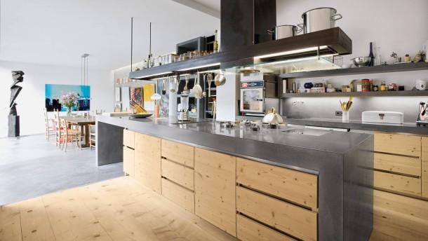 Küchenplanung: In der Küche zur Offenheit verdammt - Wohnen - FAZ