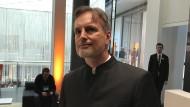 Jürgen Schmidhuber auf der Internetkonferenz DLD in München.