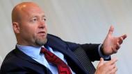 Yngve Slyngstad leitet den norwegischen Staatsfonds.