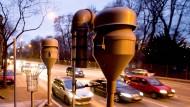 Am berühmt-berüchtigten Neckartor in Stuttgart wird die Luftqualität gemessen.