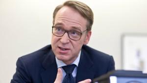 Weidmann macht Druck auf Draghi