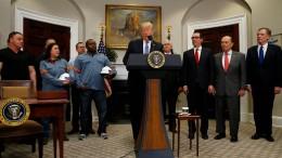 45 amerikanische Unternehmensverbände gegen Trump