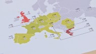 Konsumklima in Europa auf hohem Niveau