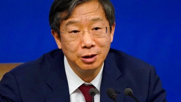 Chinas neuer Notenbankchef Yi Gang hat in Amerika Wirtschaft studiert