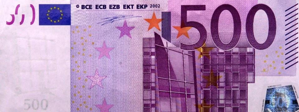 spd will 500 euro scheine abschaffen. Black Bedroom Furniture Sets. Home Design Ideas