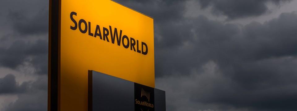 Solarworld produziert in Arntstadt in Thüringen.