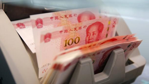 Deutschlands Währungsreserven: Die Bundesbank kauft jetzt Yuan