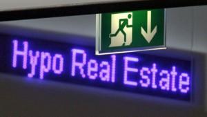 Hypo Real Estate muss radikal umbauen