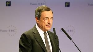 Euro verliert nach Rede des EZB-Präsidenten