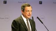 Mario Draghi auf dem European Banking Congress