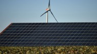 Der Ausbau von Solaranlagen scheint die Deutschen weniger zu stören als der von Windkraftanlagen.