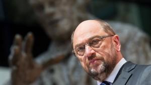 Martin Schulz setzt nun auf die Rente
