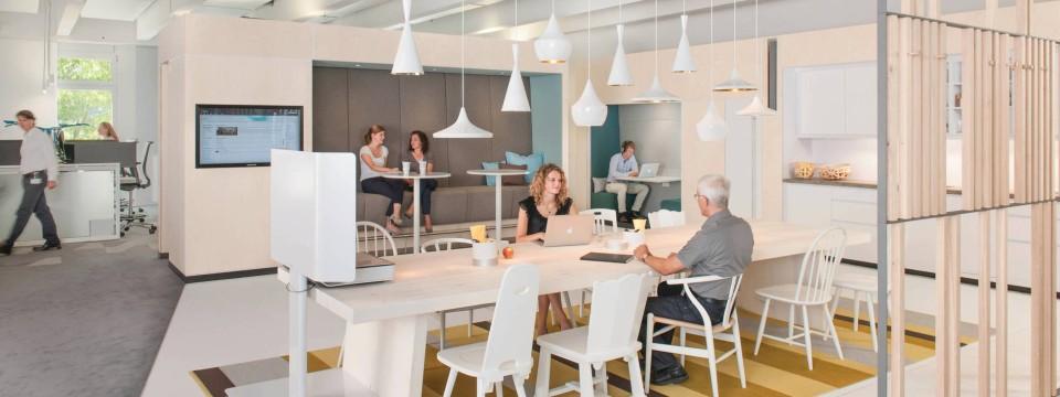 b ro einrichtung neue raumkonzepte f r den arbeitsplatz. Black Bedroom Furniture Sets. Home Design Ideas