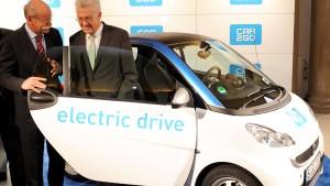 Stuttgart startet Carsharing mit 300 Elektroautos