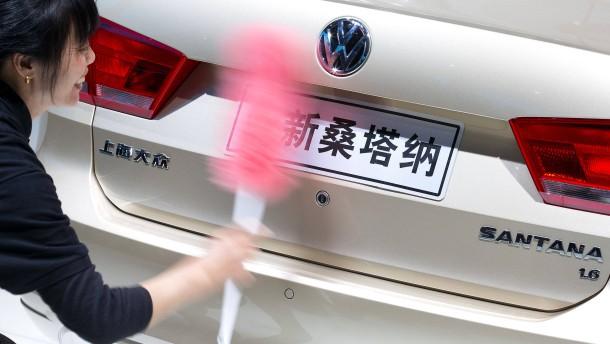 Peking verbietet die Produktion von 533 Automodellen